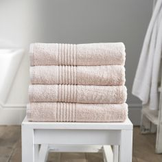 Eden 100% Egyptian Cotton 650GSM Bathroom Towel - Pink