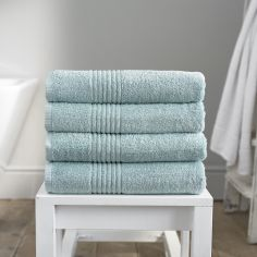 Eden 100% Egyptian Cotton 650GSM Bathroom Towel - Duck Egg Blue