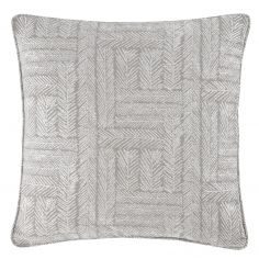 Lowe Textured Striped Cushion Cover - Charcoal Grey