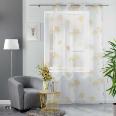 Pure Line Voile Panel with Eyelets - Yellow