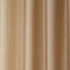 Faux Silk Luminous Fully Lined Tape Top Curtains - Latte