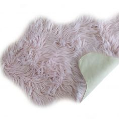 Luxurious Faux Fur Rug - Heather