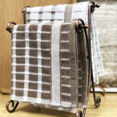 Brecon 100% Cotton Kitchen Tea Towel - Natural