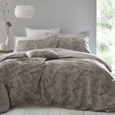 Arboretum Quilted Throwover Bedspread - Pewter Grey