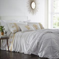 Louisiana Quilted Bedspread - Grey