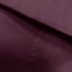 Pair of Easy Care Polycotton Pillowcases - Aubergine Purple