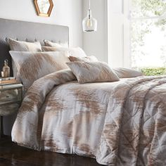Quartz Quilted Bedspread - Rose Gold