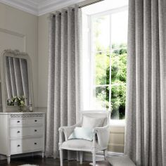 Camryn Dove Silver Grey Made to Measure Curtains