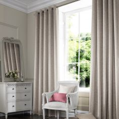 Camryn Wheat Beige Cream Made to Measure Curtains