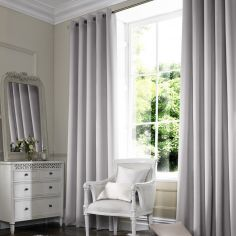 Veronica Silver Grey Made to Measure Curtains