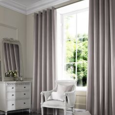 Veronica Pebble Silver Grey Made to Measure Curtains