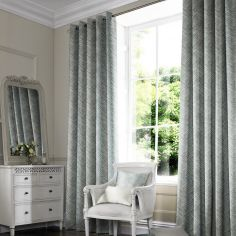 Morgan Teal Blue Made to Measure Curtains