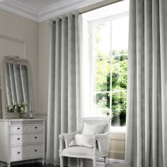 Morgan Moonstone Silver Grey Made to Measure Curtains