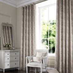 Morgan Blush Red Pink Terracotta Made to Measure Curtains