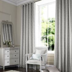 Ainsley Dove Silver Made to Measure Curtains