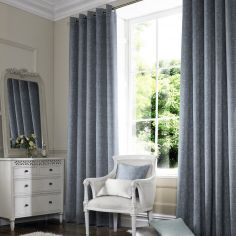 Ainsley Sky Blue Made to Measure Curtains