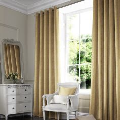 Ainsley Sunshine Green Yellow Made to Measure Curtains