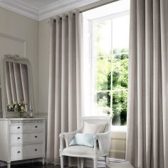 Makayla Linen Beige Cream Made to Measure Curtains