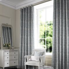 Teagan Sky Blue Made to Measure Curtains