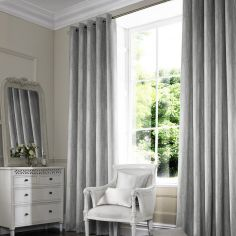 Madison Fog Silver Made to Measure Curtains