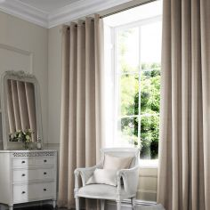 Shelby Wheat Natural Made to Measure Curtains