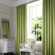 Shelby Grass Green Yellow Made to Measure Curtains