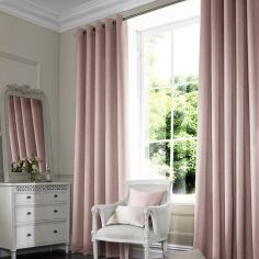 Shelby Rose Red Pink Terracotta Made to Measure Curtains