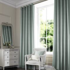Shelby Spa Blue Made to Measure Curtains
