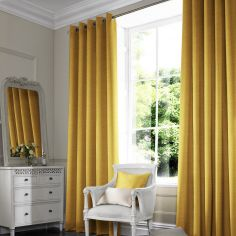 Shelby Buttercup Green Yellow Made to Measure Curtains