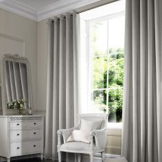 Shelby Stone Silver Made to Measure Curtains
