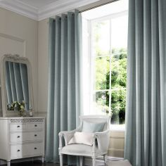Shelby Mineral Blue Made to Measure Curtains
