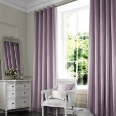Shelby Heather Purple Made to Measure Curtains