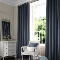 Melanie Midnight Blue Made to Measure Curtains