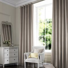 Melanie Taupe Natural Made to Measure Curtains