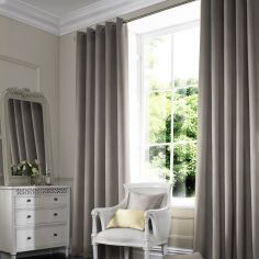 Melanie Otter Silver Grey Made to Measure Curtains