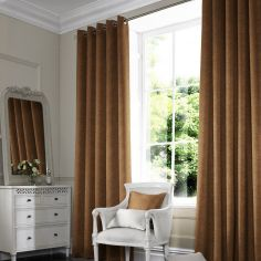 Melanie Rust Red Pink Terracotta Made to Measure Curtains
