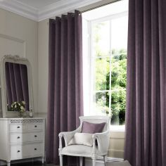 Melanie Amethyst Purple Made to Measure Curtains
