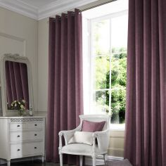 Melanie Mulberry Red Pink Terracotta Made to Measure Curtains