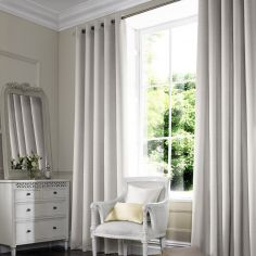 Hadley Pearl Beige Cream Made to Measure Curtains