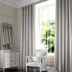 Hadley Dove Black Grey Made to Measure Curtains