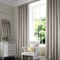 Hadley Linen Beige Cream Made to Measure Curtains