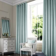 Hadley Ice Blue Made to Measure Curtains