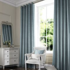 Hadley Smoke Blue Made to Measure Curtains
