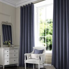 Hadley Indigo Blue Made to Measure Curtains