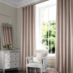 Hadley Rose Red Pink Terracotta Made to Measure Curtains