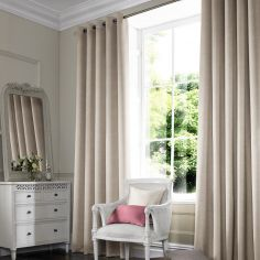 Hadley Cream Beige Made to Measure Curtains