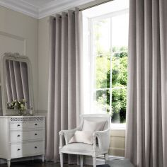 Hadley Fog Black Grey Made to Measure Curtains