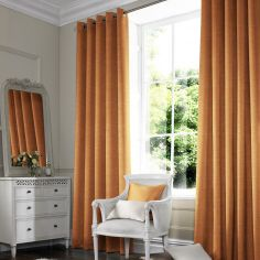 Hadley Orange Red Pink Terracotta Made to Measure Curtains