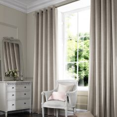 Hadley Champagne Beige Cream Made to Measure Curtains