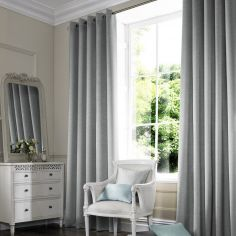 Hadley Mist Black Grey Made to Measure Curtains